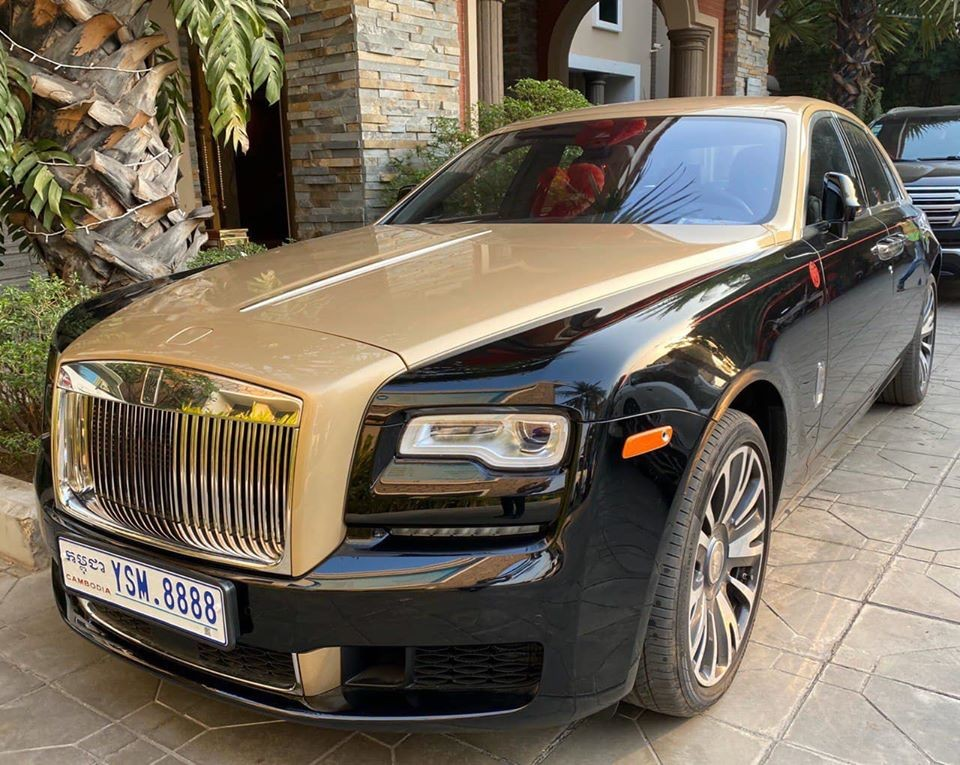 Chiếc xe siêu sang Rolls-Royce Ghost Year of the Pig duy nhất trên thế giới đã về tay đại gia Campuchia