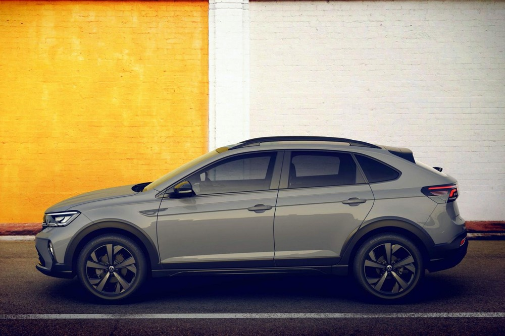 Volkswagen Nivus 2021 có kích thước gần tương đương T-Cross