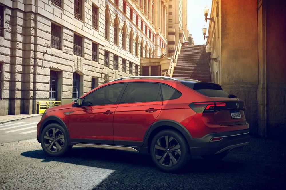 Volkswagen Nivus 2021 dùng chung khung gầm với T-Cross