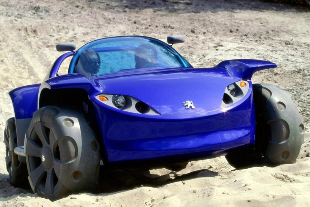 Peugeot chỉ sản xuất duy nhất một chiếc thế này và giờ nó đang được cất giữ tại viện bảo tàng