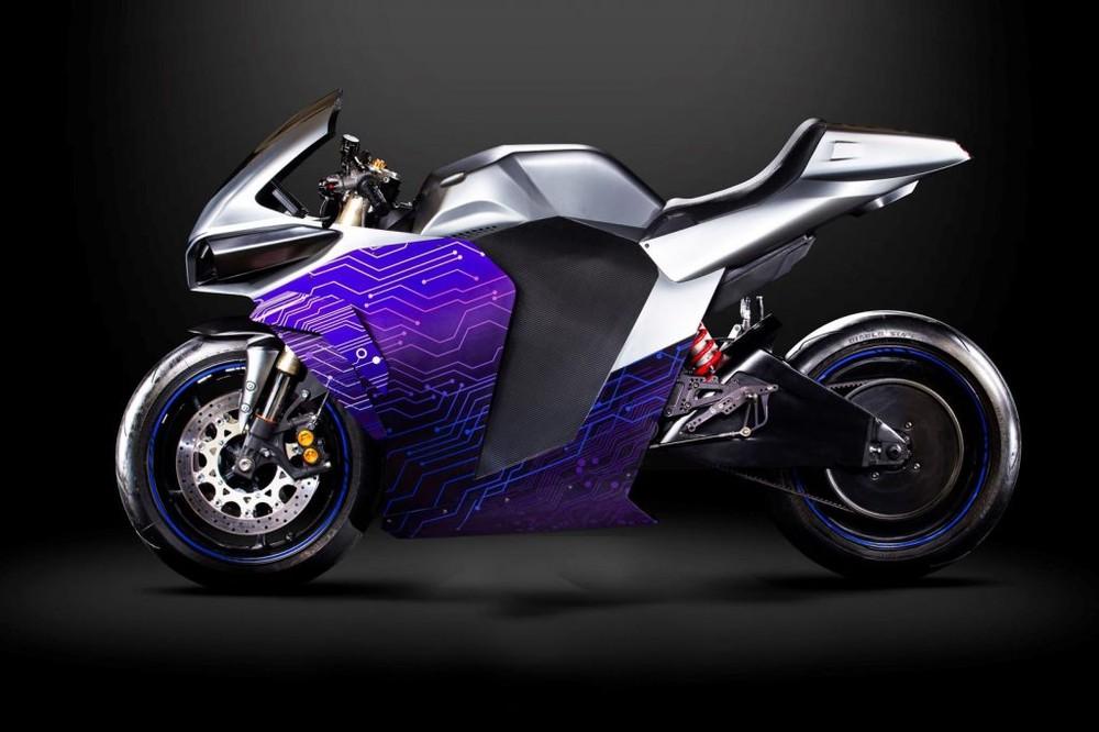 Xe mô tô điện dáng Sport bike từ Emula