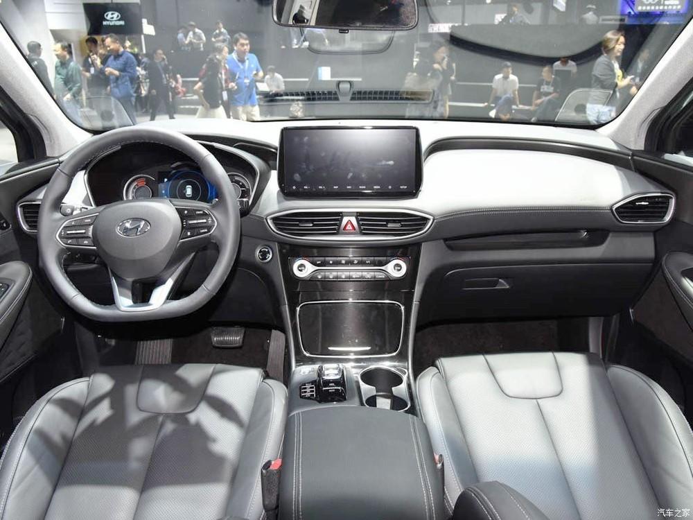 Thiết kế nội thất của Hyundai Santa Fe 2019 dành cho Trung Quốc