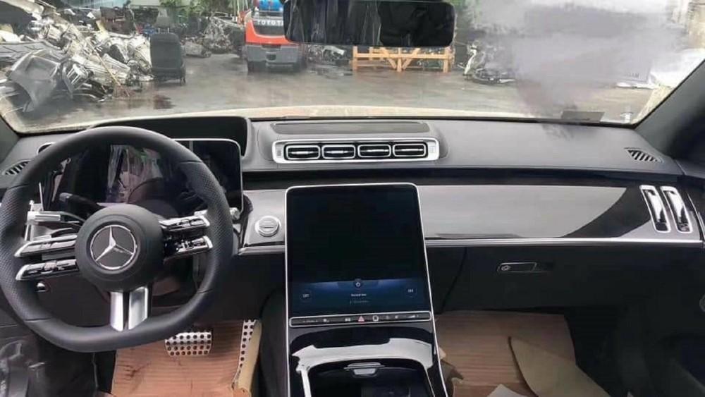 Thiết kế nội thất của Mercedes-Benz S-Class 2021