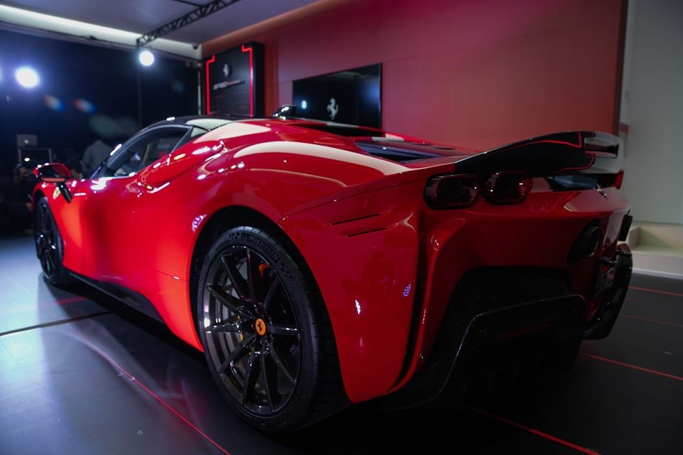 Chiếc Ferrari SF90 Stradale này sẽ được trưng bày ở Thái Lan từ 29 tháng 5 đến 26 tháng 7
