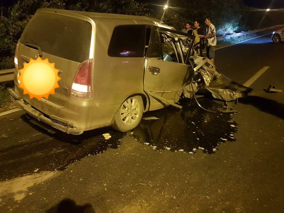 Tài xế lái xe Toyota Innova bị tình nghi say xỉn
