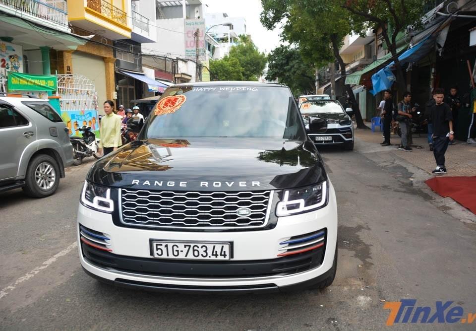 Chiếc Range Rover Autobiography LWB đời 2018 lúc còn của Minh Nhựa