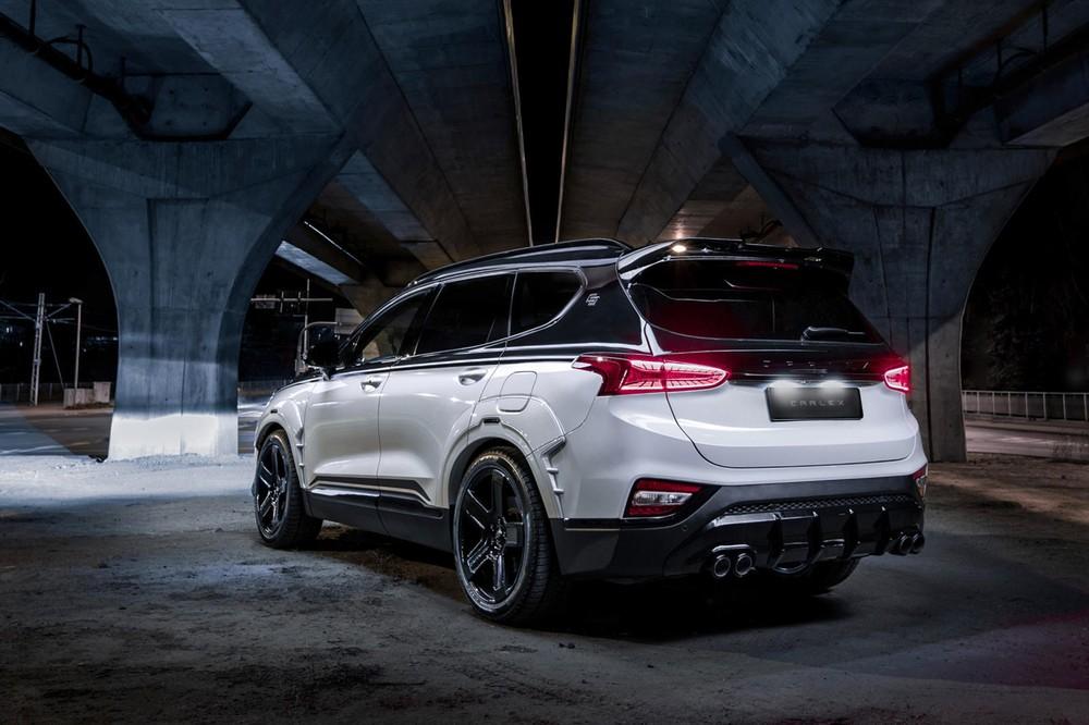 Chiếc SUV Hàn Quốc nhận được một bộ body kit cải thiện đáng kể vẻ ngoài