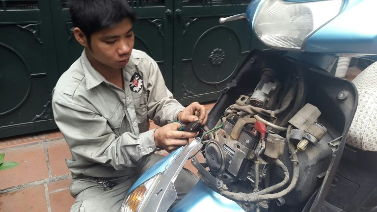 Anti-theft IC for motorbike is needed