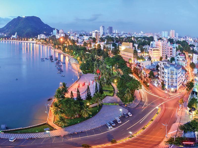 Quang cảnh thành phố Vũng Tàu