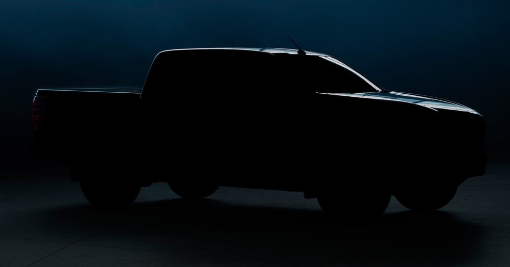 Hình ảnh teaser của BT-50 thế hệ mới do hãng Mazda tung ra