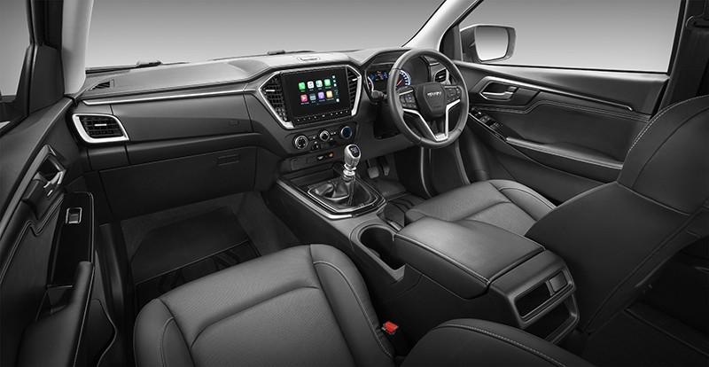 Nội thất bên trong Mazda BT-50 2020 tại Thái Lan