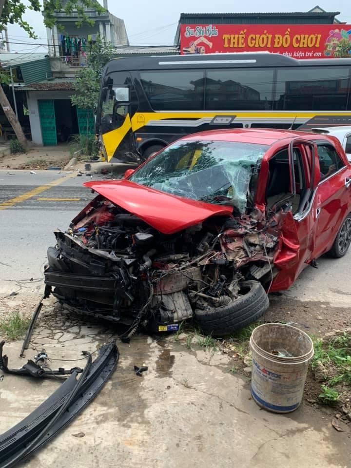 Vụ tai nạn khiến 1 người bị thương