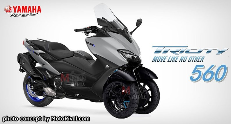 Concept Tricity 560 do Motorival thực hiện