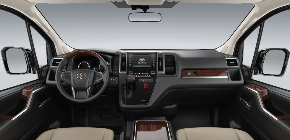 Nội thất Toyota Granvia