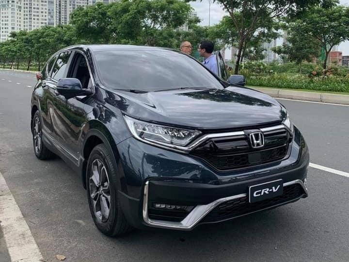 Honda CR-V 2020 bản lắp ráp bị bắt gặp trên đường phố