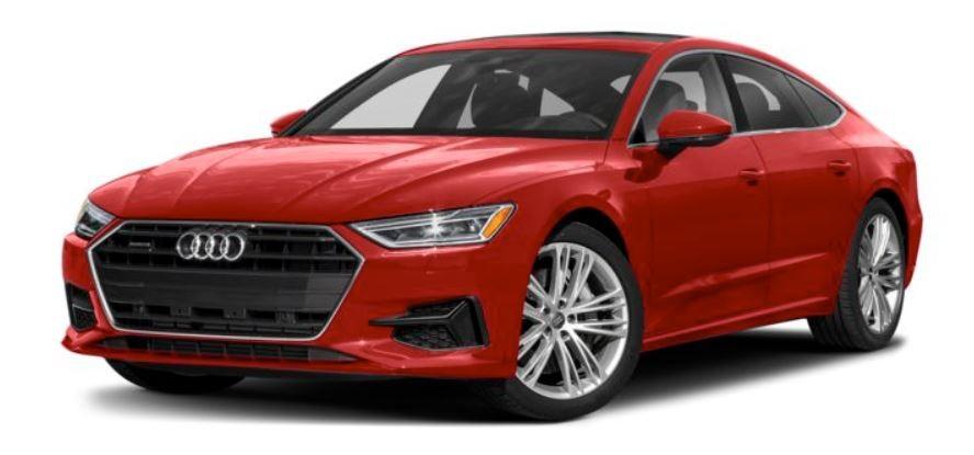 Audi A7 đỏ