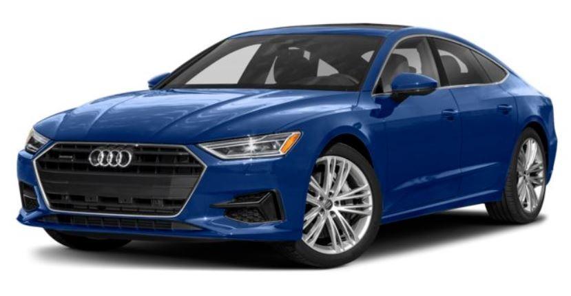 Audi A7 xanh dương