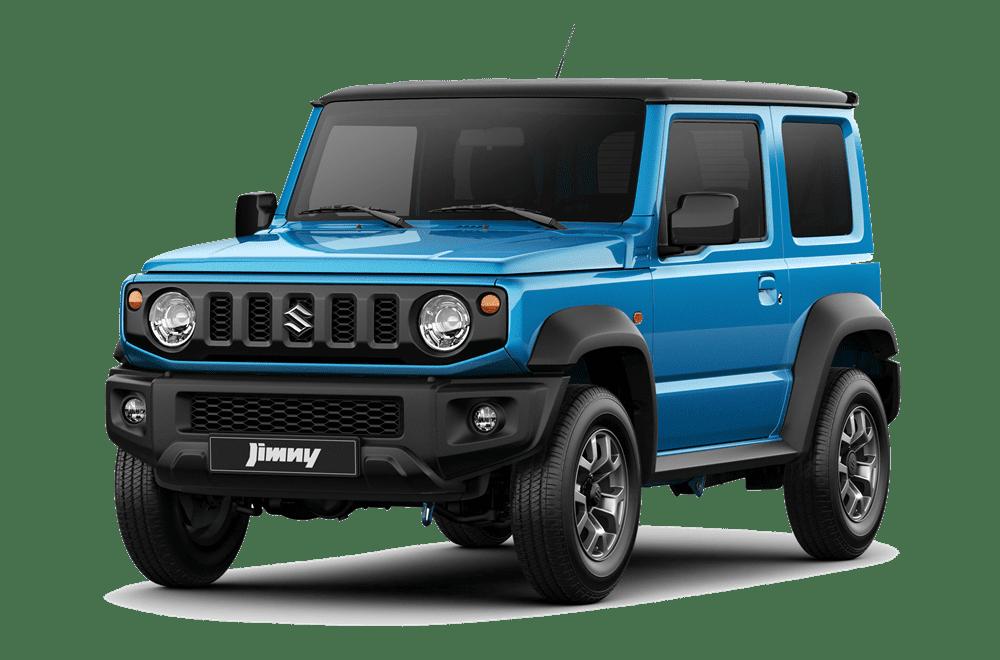Suzuki Jimny xanh dương