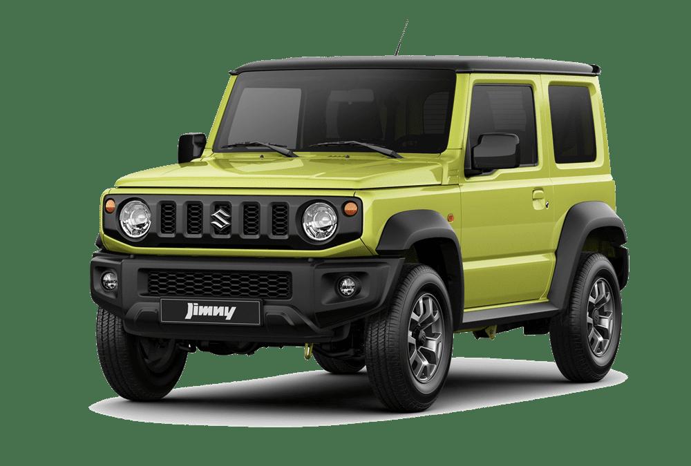 Suzuki Jimny xanh lá