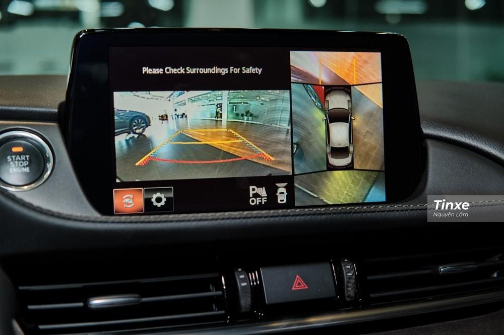 Trang bị an toàn của Mazda6 2020 vượt trội hơn so với đối thủ