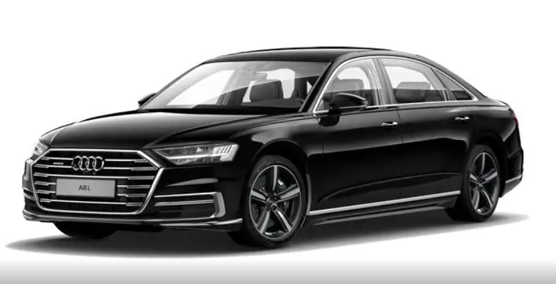 Audi A8 đen