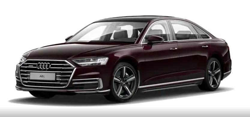 Audi A8 nâu