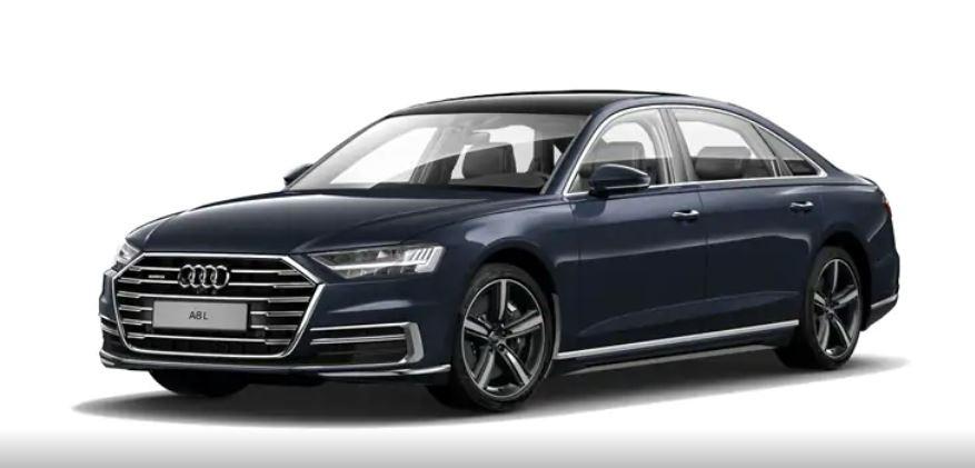 Audi A8 xanh đậm