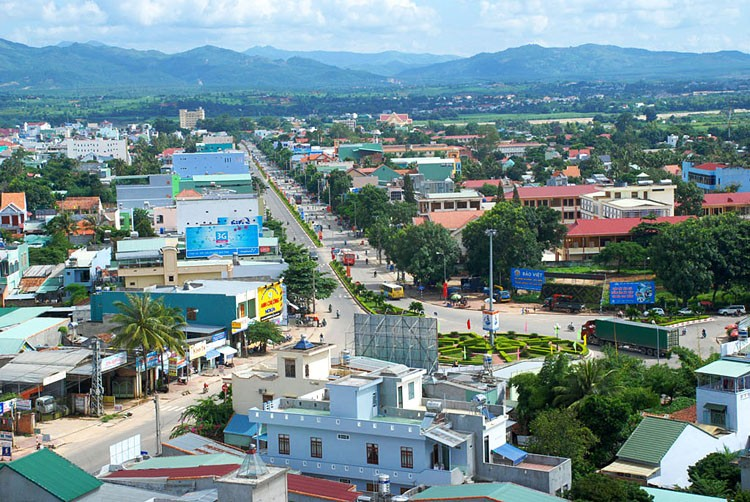 Kon Tum city view