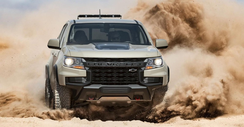 Chevrolet Colorado ZR2 2021 is the most advanced version so it is quite good equipment