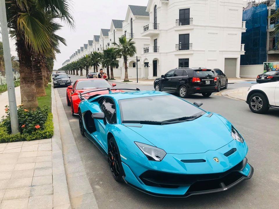 Lamborghini Aventador SVJ độc nhất Việt Nam trong lần xuất hiện trên đường phố hiếm hoi