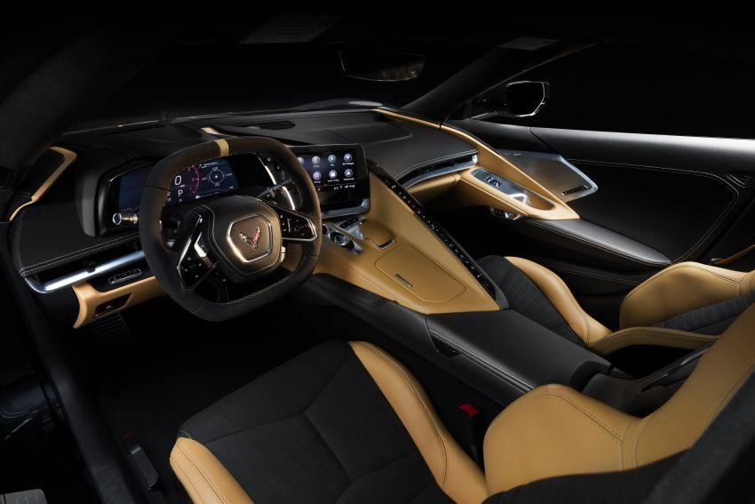 Nội thất bên trong Chevrolet Corvette C8