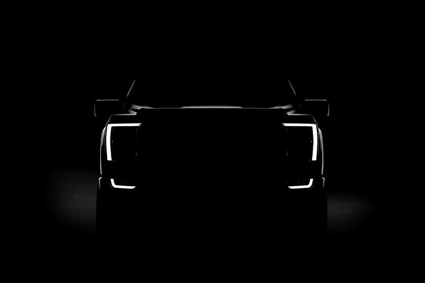 Hình ảnh teaser của Ford F-150 2021