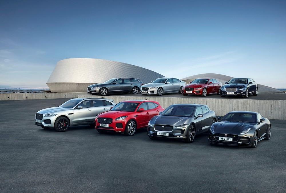 Các dòng xe Jaguar đang được phân phối tại Việt Nam
