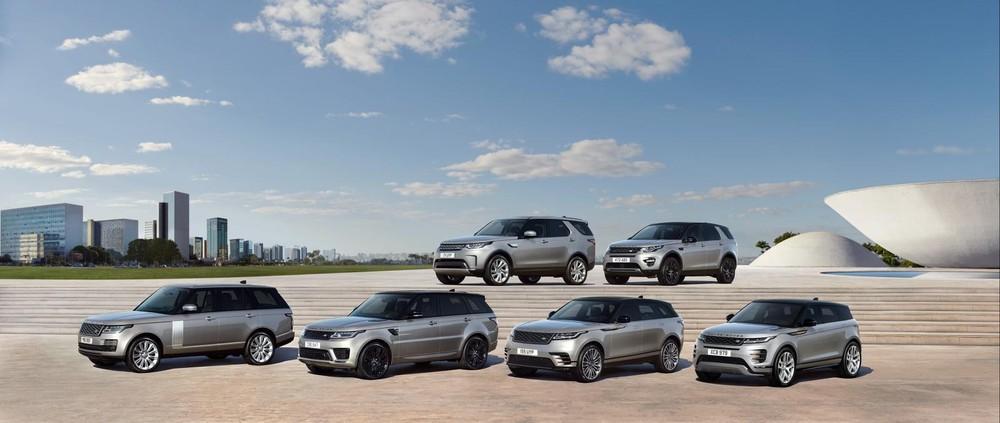 Các dòng xe Land Rover đang phân phối tại Việt Nam