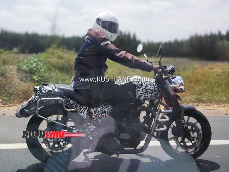 Xế cổ Royal Enfield Hunter 350 lộ ảnh chạy thử ngoài đường lớn