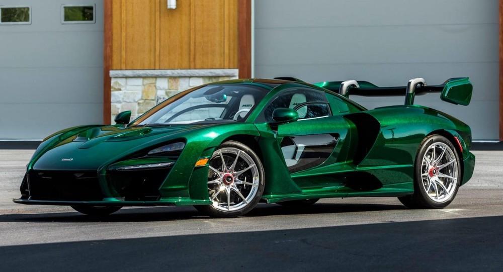 McLaren Senna xanh lá