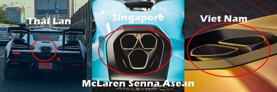 Ống xả của McLaren Senna