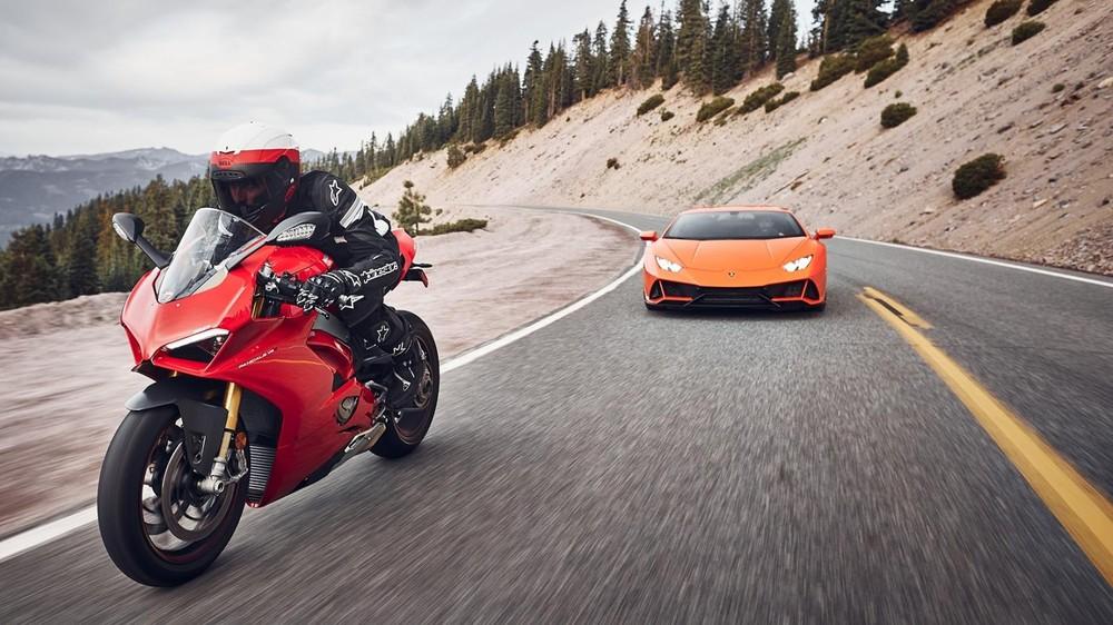 Siêu mô tô đến từ Ý Ducati sẽ sống chung nhà cùng với siêu xe Lamborghini ở Việt Nam