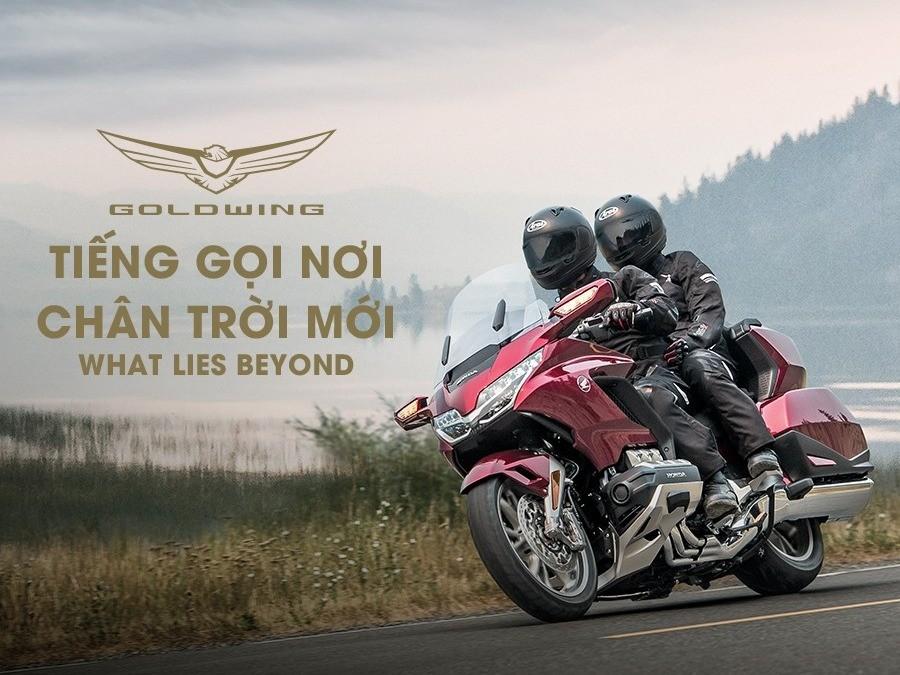 Honda Gold Wing 2020 vừa ra mắt tại Việt Nam