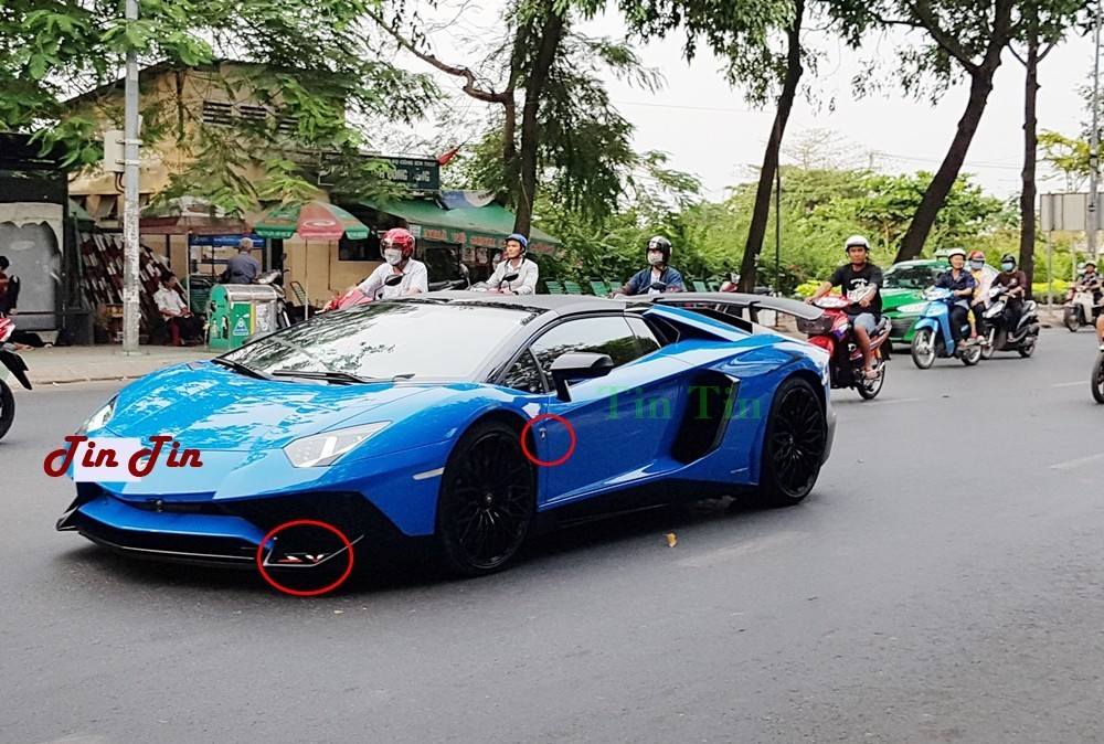 Lamborghini Aventador LP750-4 SV Roadster thứ 2 về Việt Nam