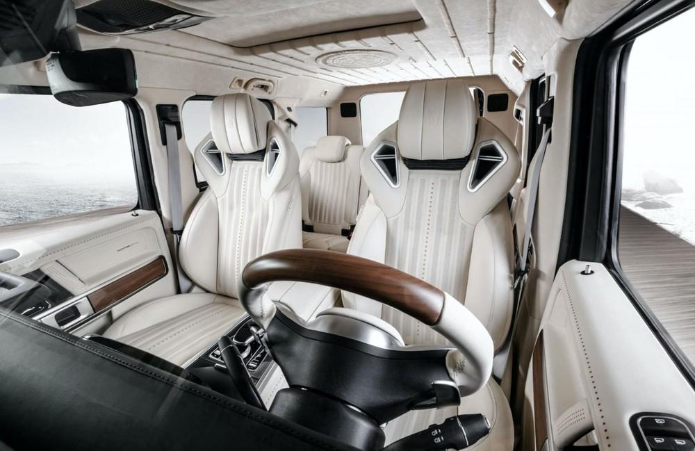 Góc nhìn khác nội thấtcủaMercedes-AMG G63 Yachting Limited Edition