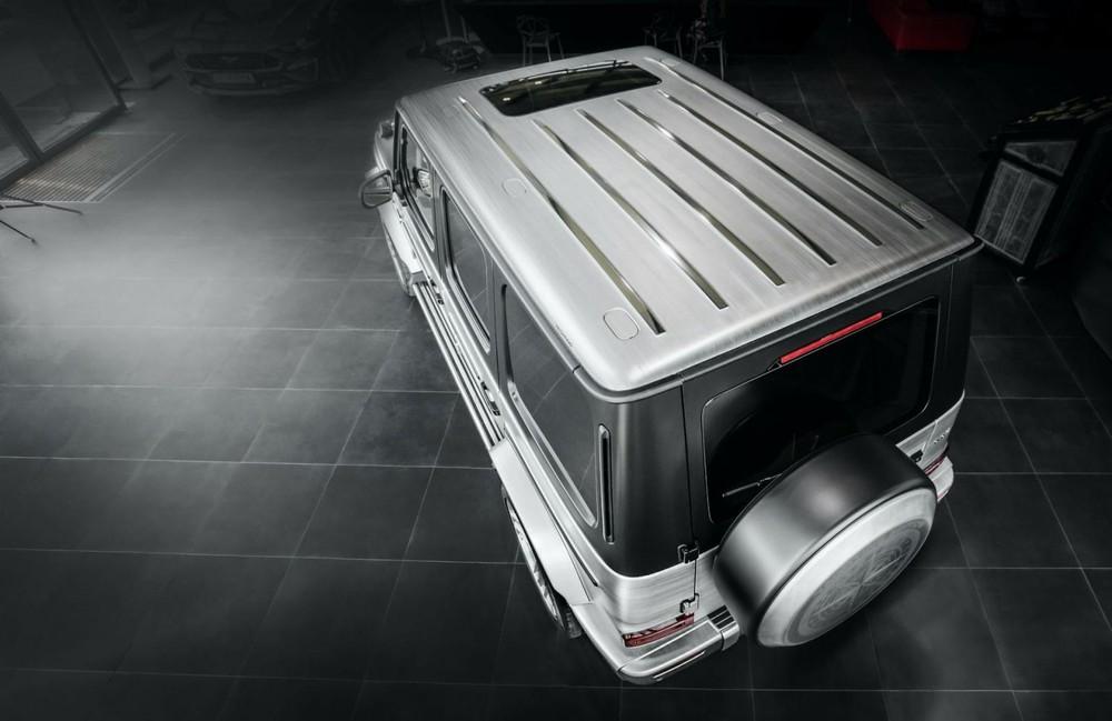 Phía trêncủaMercedes-AMG G63 Yachting Limited Edition