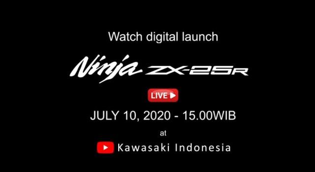 Kawasaki ZX-25R chính thức chốt ngày ra mắt tại Indonesia