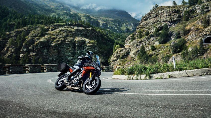 Yamaha Tracer 900 GT 2020 được phát triển từ naked bike MT-09