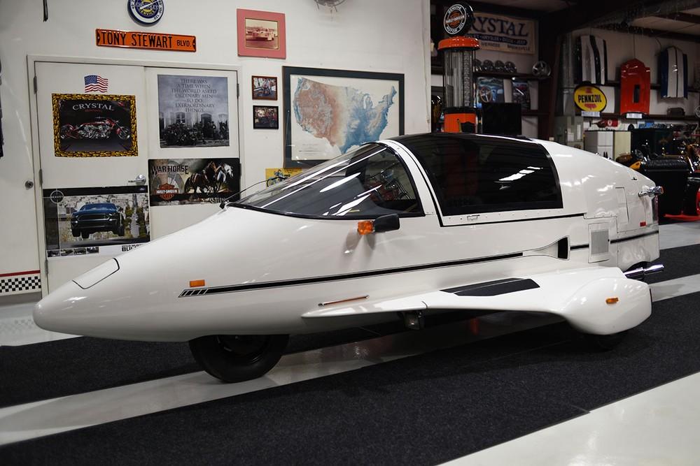 Pulse Autocycle là một phương tiện kỳ lạ mang dáng vẻ như máy bay