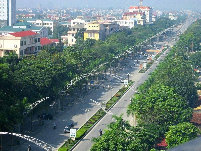 Quang cảnh thành phố Thanh Hóa