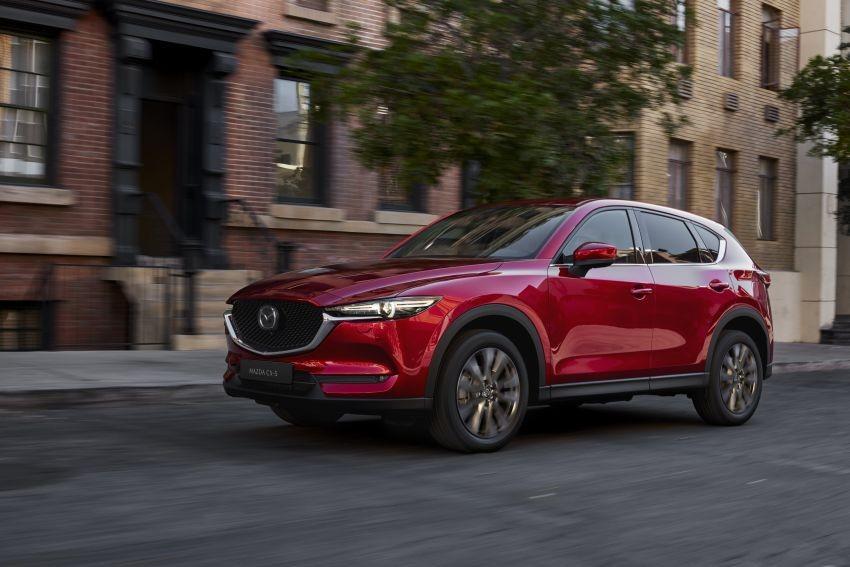 Mazda CX-5 2020 có thêm tính năng ngắt xi-lanh