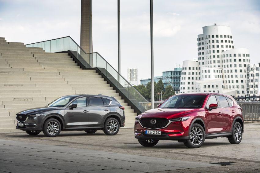Mazda CX-5 2020 đã chính thức trình làng tại thị trường châu Âu