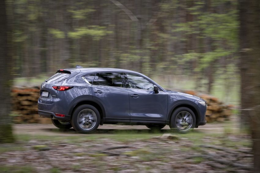 Mazda CX-5 AWD 2020 có hệ thống Off-road Traction