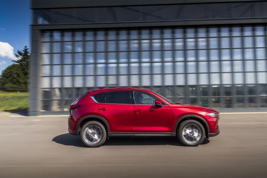 Giá xe Mazda CX-5 2020 tại thị trường châu Âu chưa được công bố